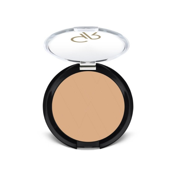 Golden rose, silky touch compact powder, puder matujący