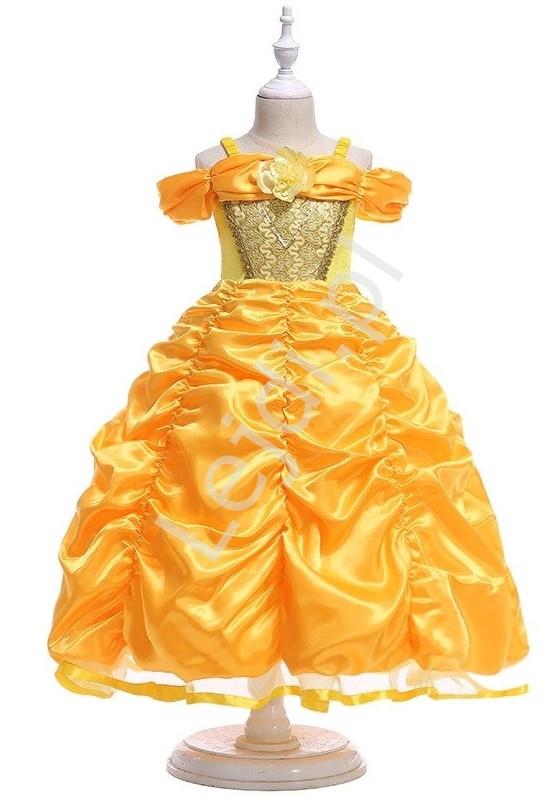 Image of Bella - kostium dziecięcy z bajki piękna i bestia