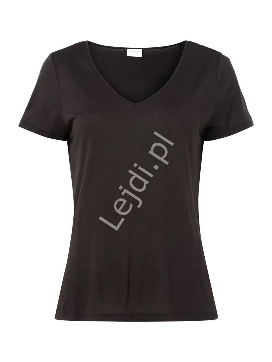 Czarny t-shirt vila