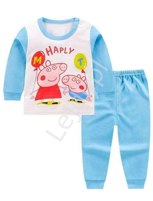 Bawełniana piżamka dziecięca peppa pig, george 0280