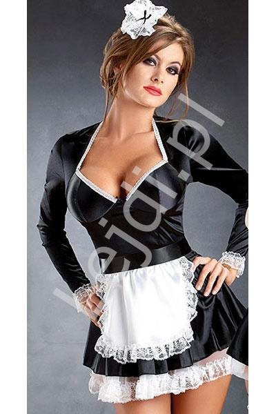 Seksowna pokojówka - przebranie, strój na bal karnawałowy