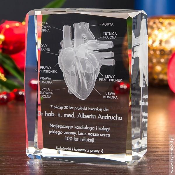 Image of Anatomia serca 3d • prezent dla kardiologa • personalizacja gratis