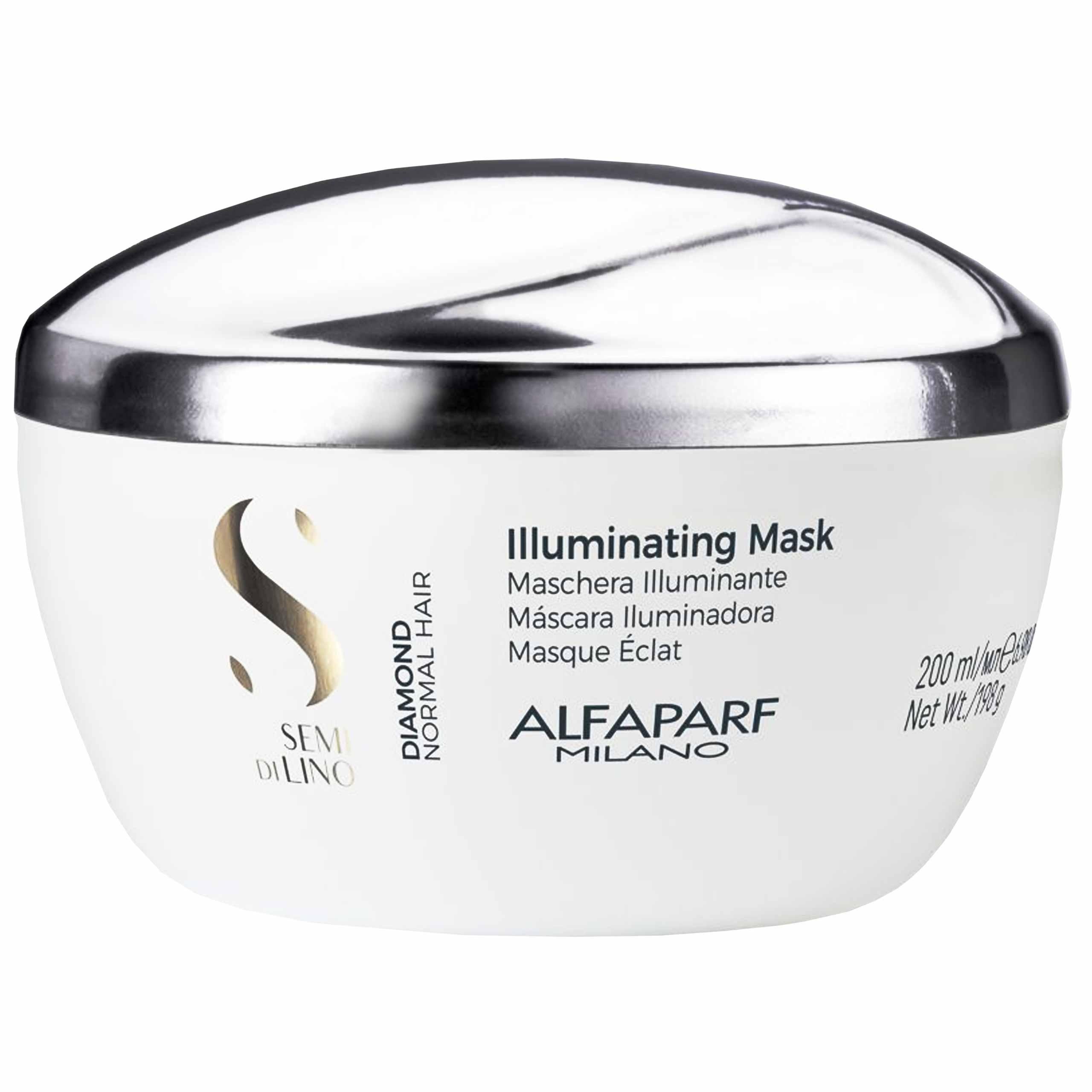 Image of Alfaparf diamond, maska rozświetlająco- wygładzająca 200 ml