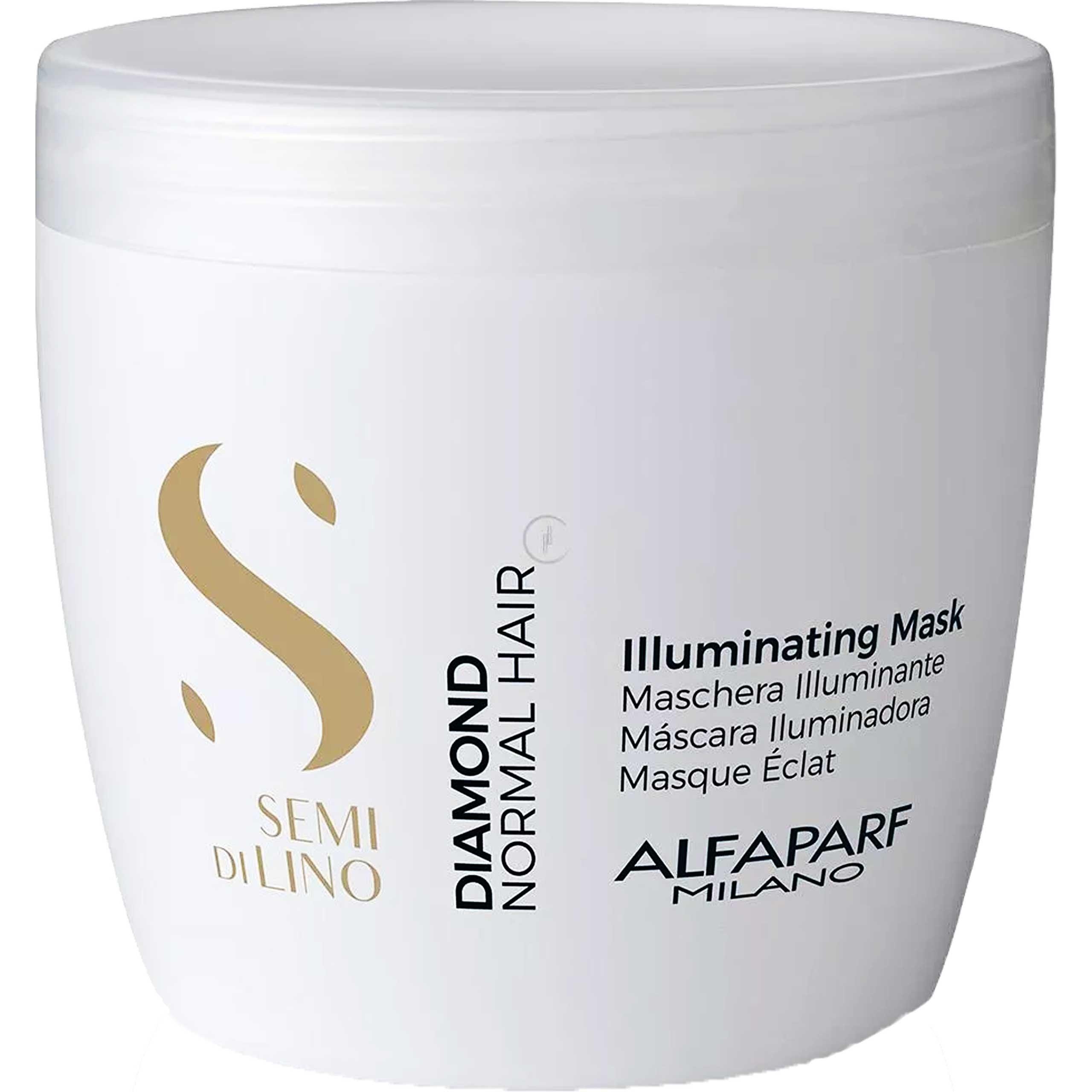 Image of Alfaparf diamond, maska rozświetlająca do włosów normalnych 500 ml