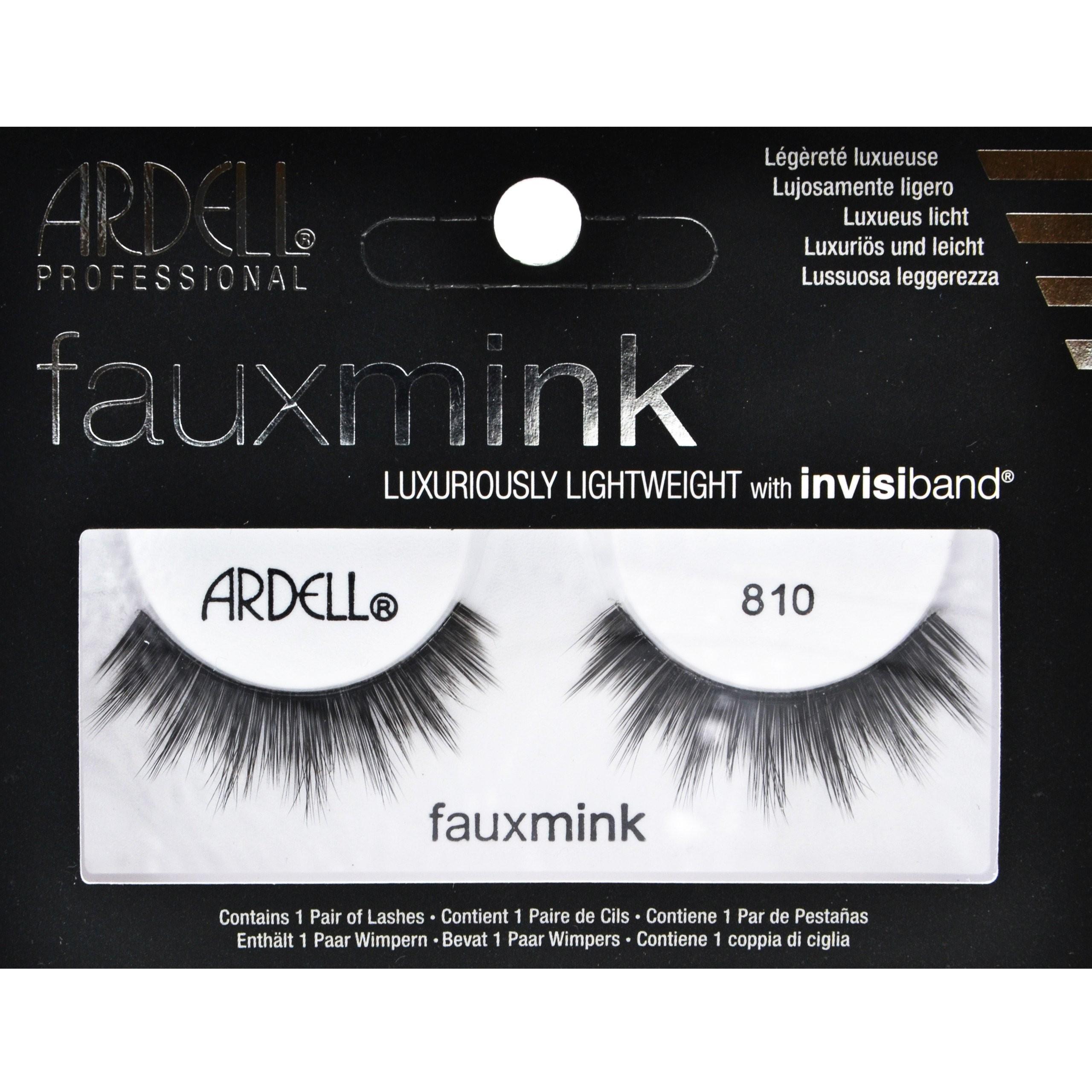 Image of Ardell paski fauxmink 810 sztuczne rzęsy, czarne