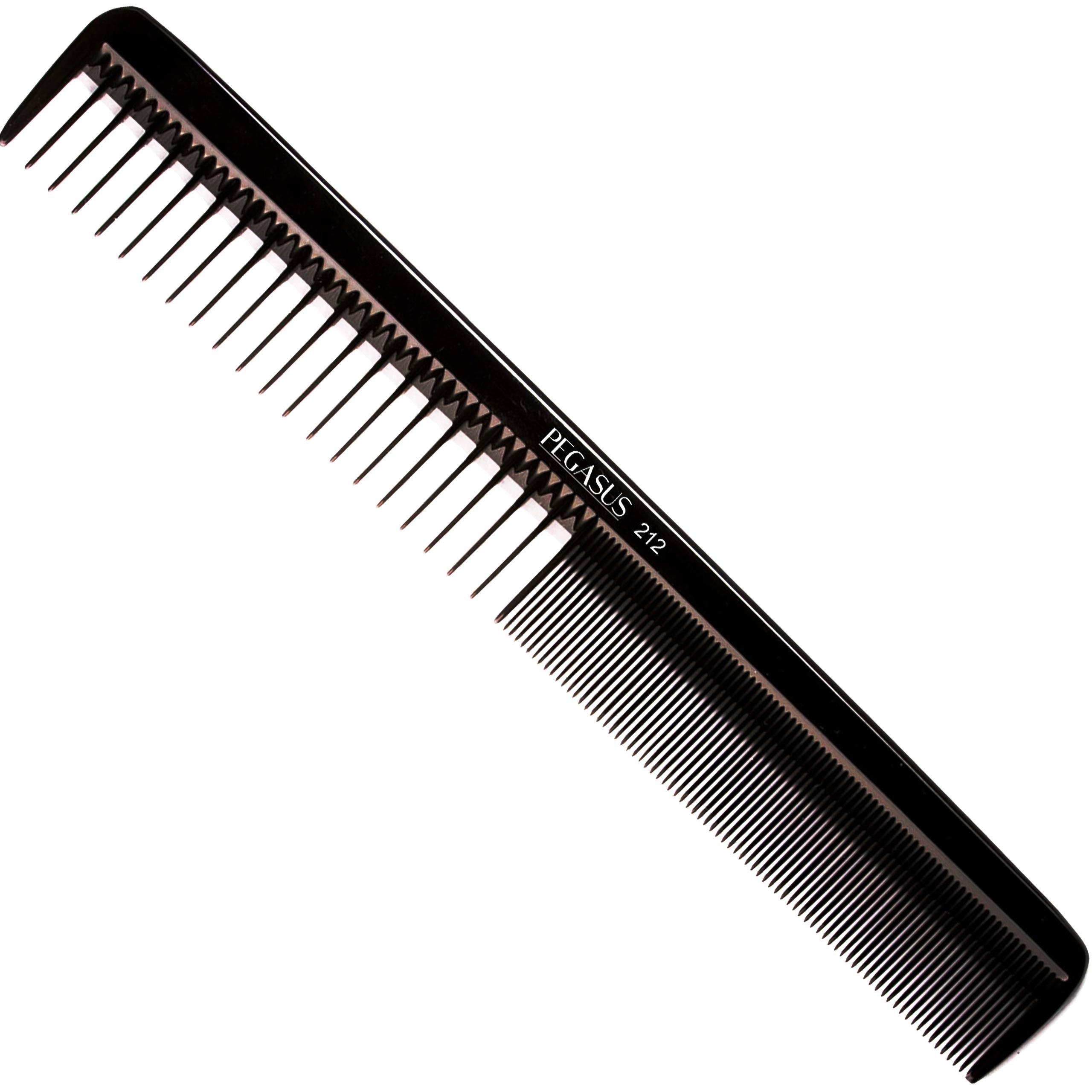 Image of Barberski męski grzebień do brody i włosów pegasus 212