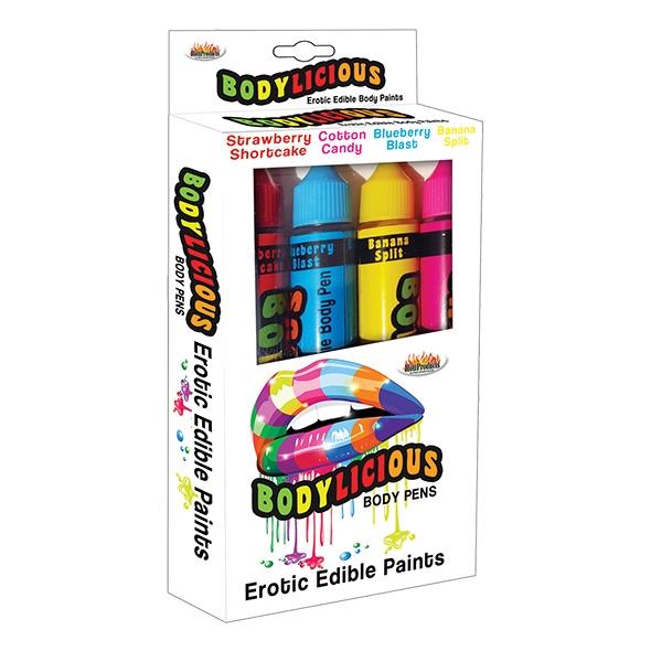 Pisaki jadalne do ciała - bodylicious body pens