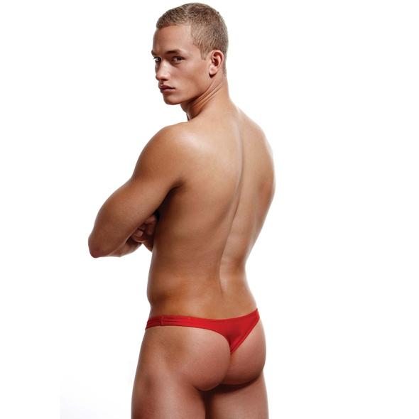Stringi męskie - envy low-rise thong s/m  czerwony