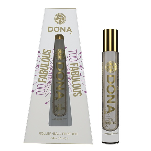 Roll-on perfumy damskie z feromonami - dona pheromone perfume 10 ml too fabulous