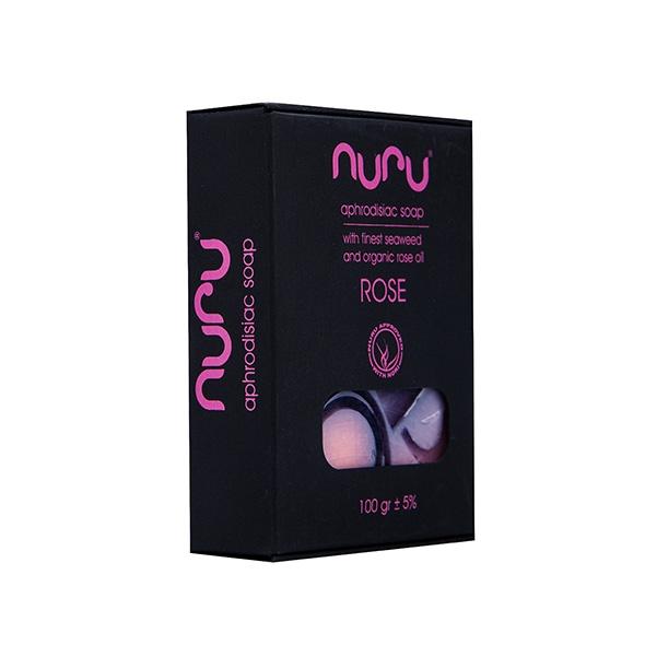 Mydło z afrodyzjakami różane - nuru soap 100 gr rose