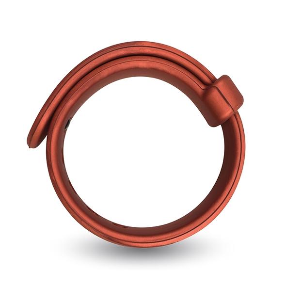 Opaska erekcyjna na penisa - velv'or rooster jason size adjustable firm strap design cock ring czerwony