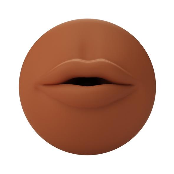 Wkładka do masturbatora - autoblow a.i. silicone sleeve usta brązowy