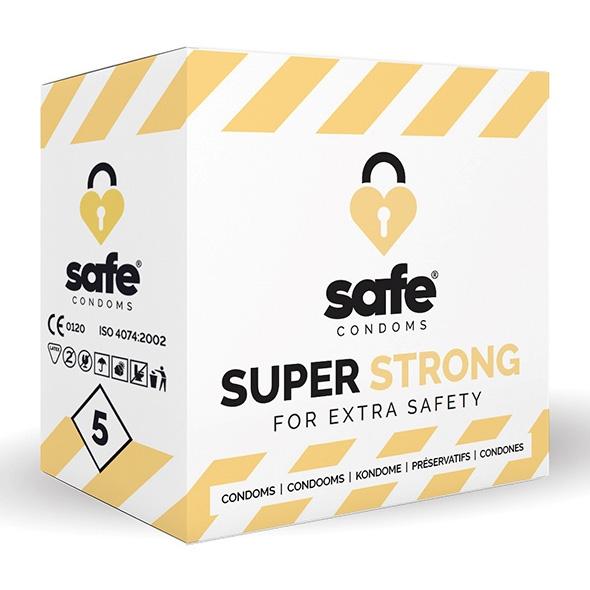 Prezerwatywy wzmocnione - safe strong condoms 5 szt