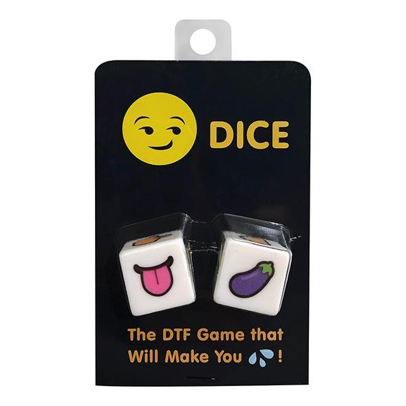 Zakręcona erotyczna gra w kości - kheper games dtf emoji dice game