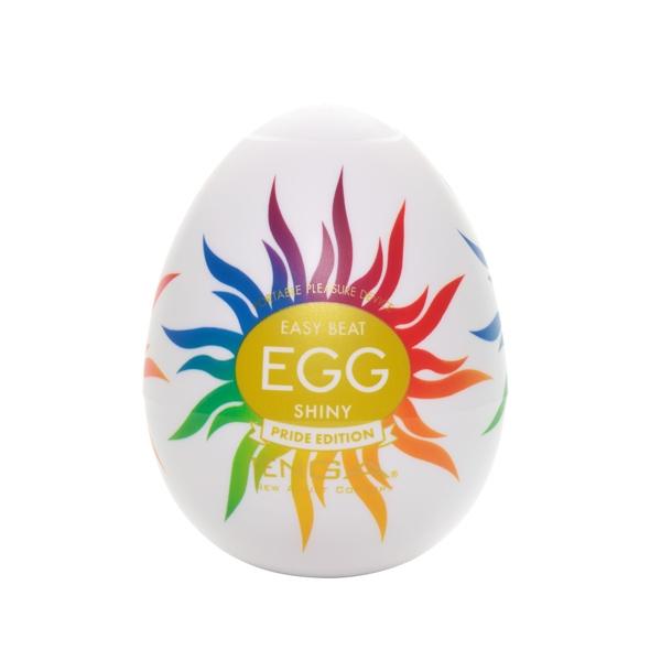 Tenga masturbator - jajko egg shiny pride (1 sztuka)