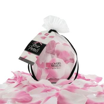 Płatki róż - loverspremium - rose petals flamingo
