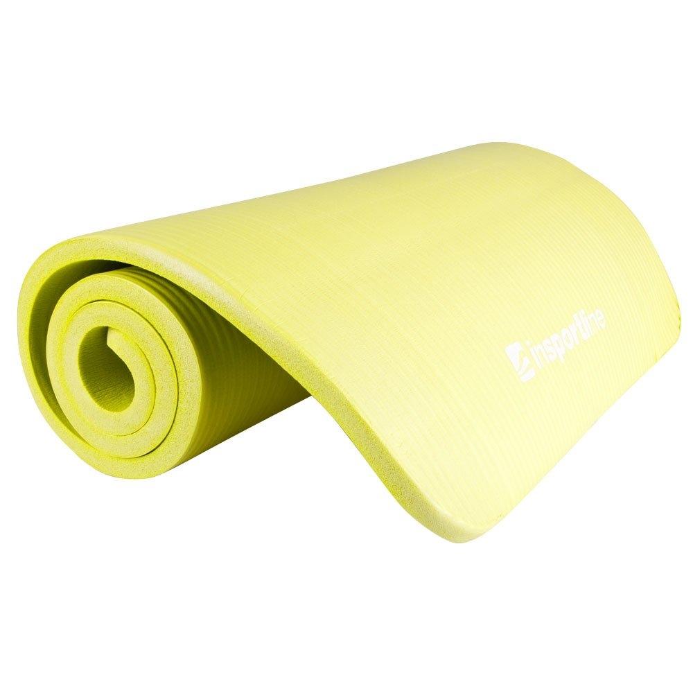 Image of Mata do ćwiczeń fity żółta - insportline