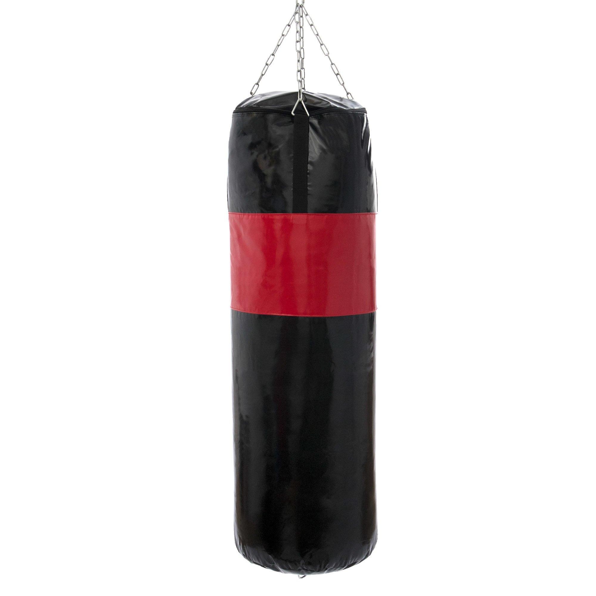 Image of Worek bokserski wzmocniony 130 cm fi45 cm + torpeda mc-w130|45-ex - marbo sport