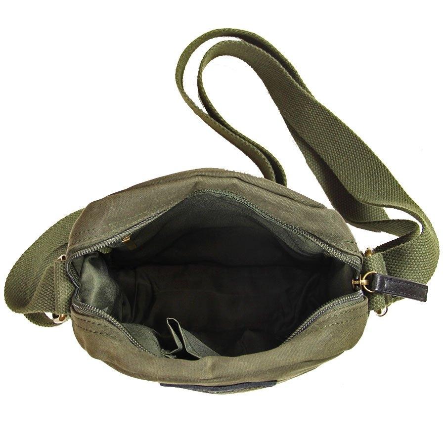 Image of Bawełniana torba na ramię unisex 2jus by daag zone 5 oliwka
