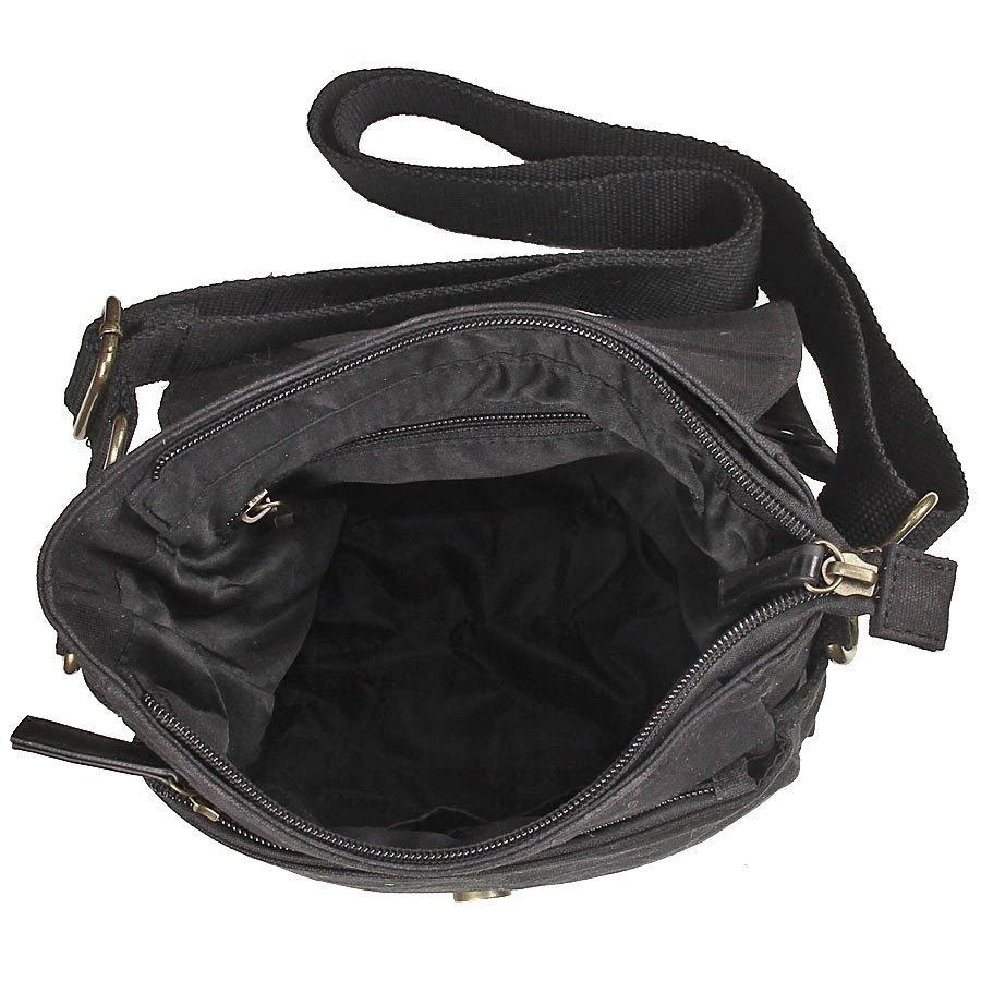 Image of Bawełniana torba na ramię unisex 2jus by daag zone 2 czarna