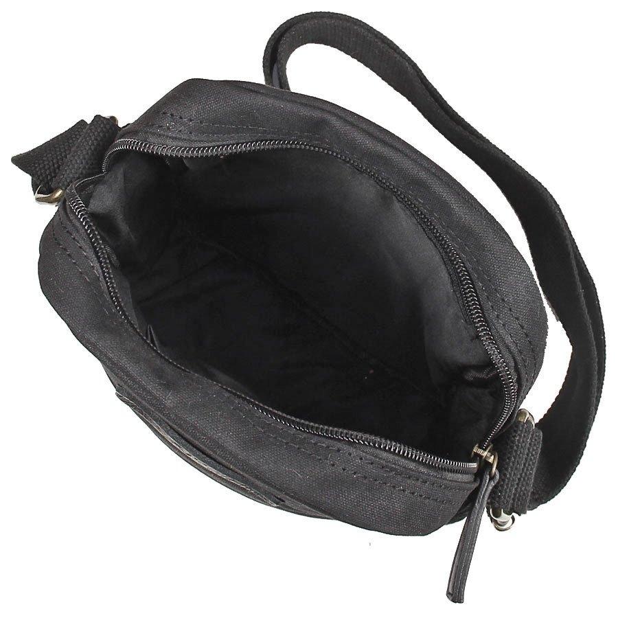 Image of Bawełniana torba na ramię unisex 2jus by daag zone 5 czarna