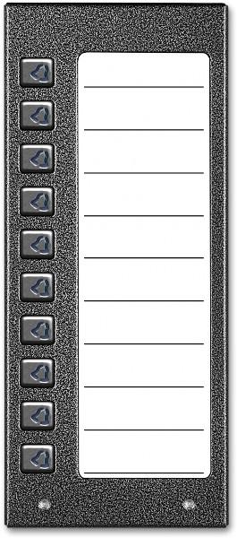 Image of Aco cdn-10np st podświetlany panel listy lokatorów z 10 przyciskami - możliwość montażu - zadzwoń: 34 333 57 04 - 37 sklepów w całej polsce