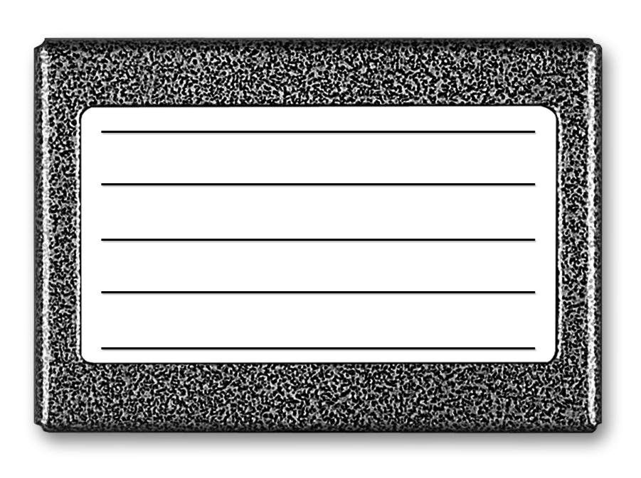 Image of Aco cdn-5n st podświetlany panel listy lokatorów (ok.5 wpisów) - możliwość montażu - zadzwoń: 34 333 57 04 - 37 sklepów w całej polsce