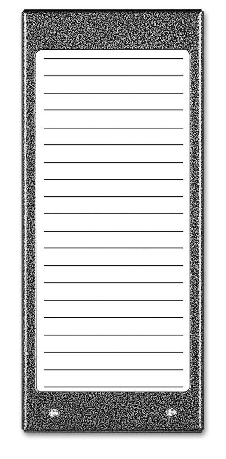 Image of Aco cdn-17n st podświetlany panel listy lokatorów (ok. 17 wpisów) - możliwość montażu - zadzwoń: 34 333 57 04 - 37 sklepów w całej polsce