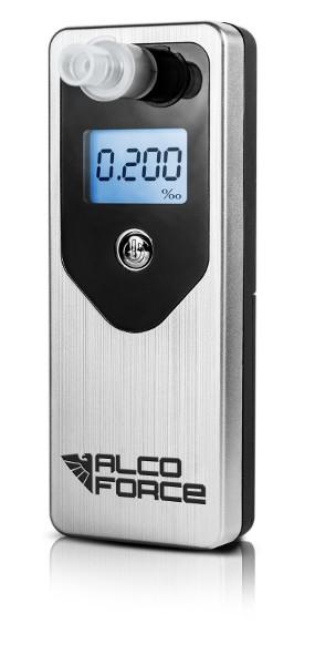 Image of Alkomat alcoforce evo + kalibracja 12mc +10 ustników srebrny - możliwość montażu - zadzwoń: 34 333 57 04 - 37 sklepów w całej polsce