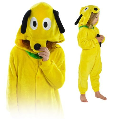 Image of Kigurumi onesie dla dzieci piżama pies pluto