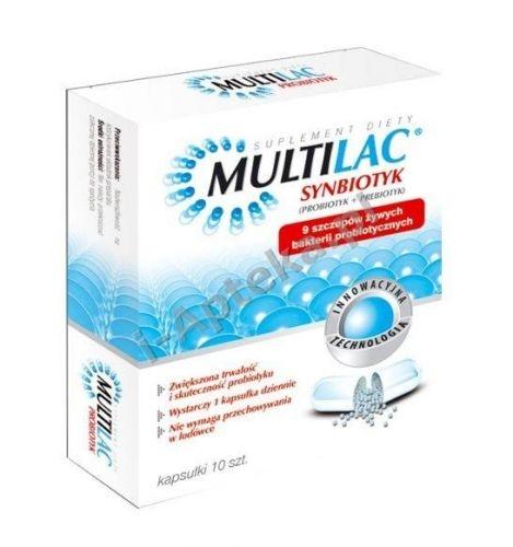 Multilac synbiotyk x 10 kapsułek