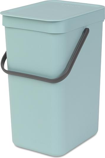 Image of Kosz do segregacji odpadów sort & go 12 l miętowy