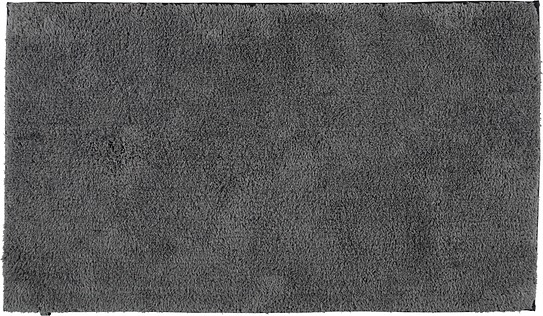 Image of Dywanik łazienkowy cawo gładki 60 x 100 cm antracytowy antypoślizgowy