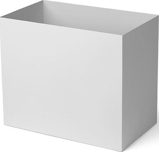 Pojemnik wysoki do kwietników plant box l jasnoszary