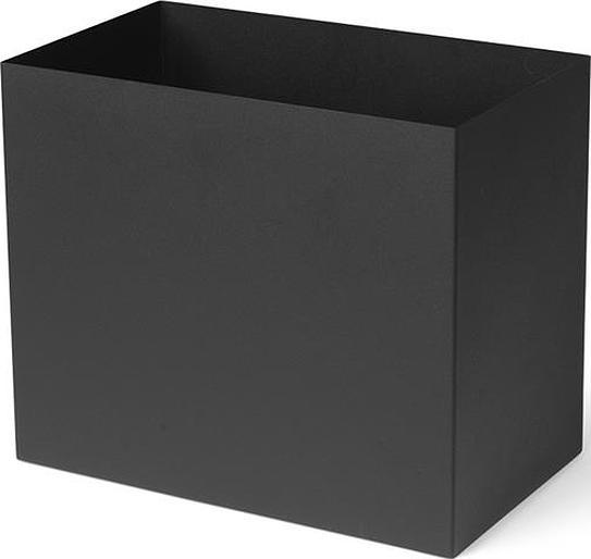 Pojemnik wysoki do kwietników plant box l czarny
