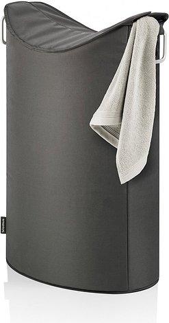 Image of Kosz na pranie frisco antracyt