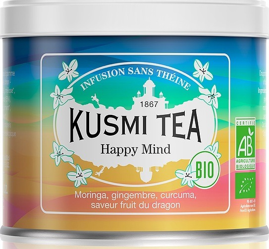 Image of Herbata bio happy mind puszka 100 g