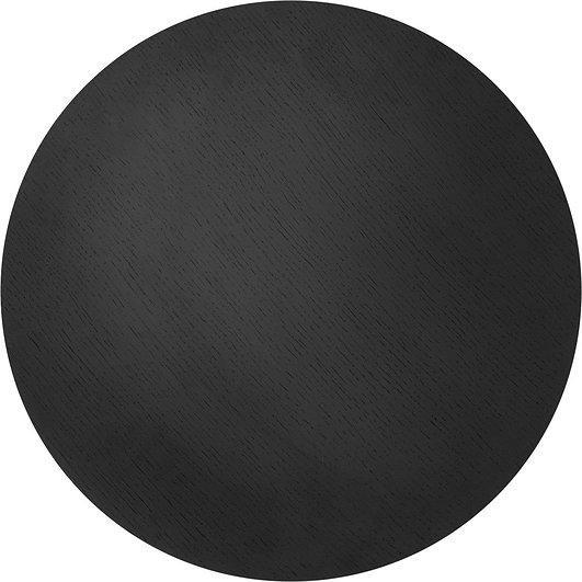 Image of Blat do kosza metalowego ferm living czarny dąb l