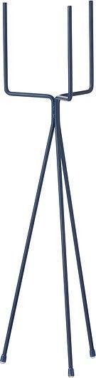 Stojak na doniczkę ferm living niski niebieski
