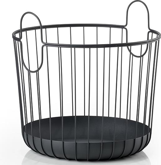 Image of Kosz na pranie inu 30 x 30,5 cm czarny
