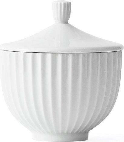 Image of Bomboniera lyngby biała 14 cm