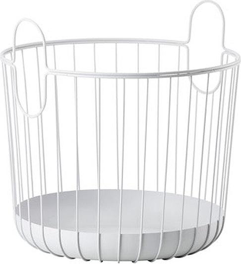 Image of Kosz na pranie inu 30 x 30,5 cm jasnoszary