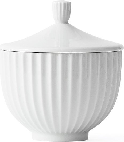 Image of Bomboniera lyngby biała 10 cm
