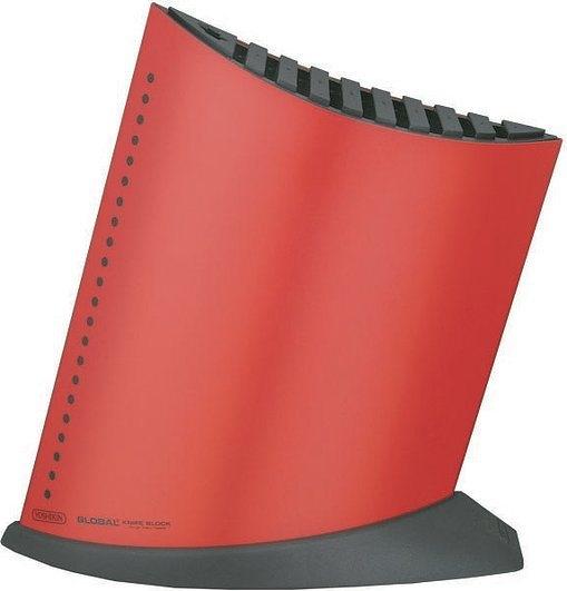 Image of Blok na 9 noży global czerwony