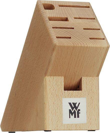Image of Blok na noże, nożyczki i ostrzałkę wmf drewniany