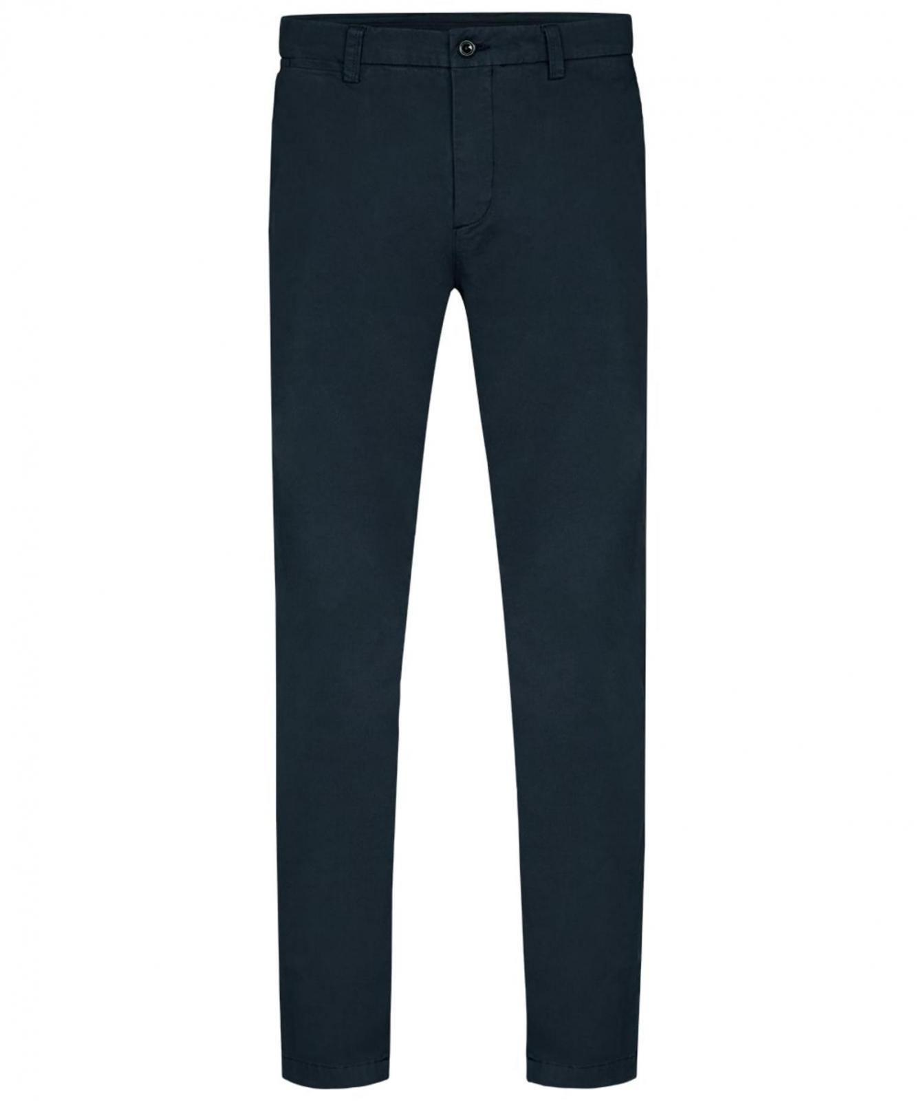 Image of Granatowe spodnie typu chino profuomo 30/32