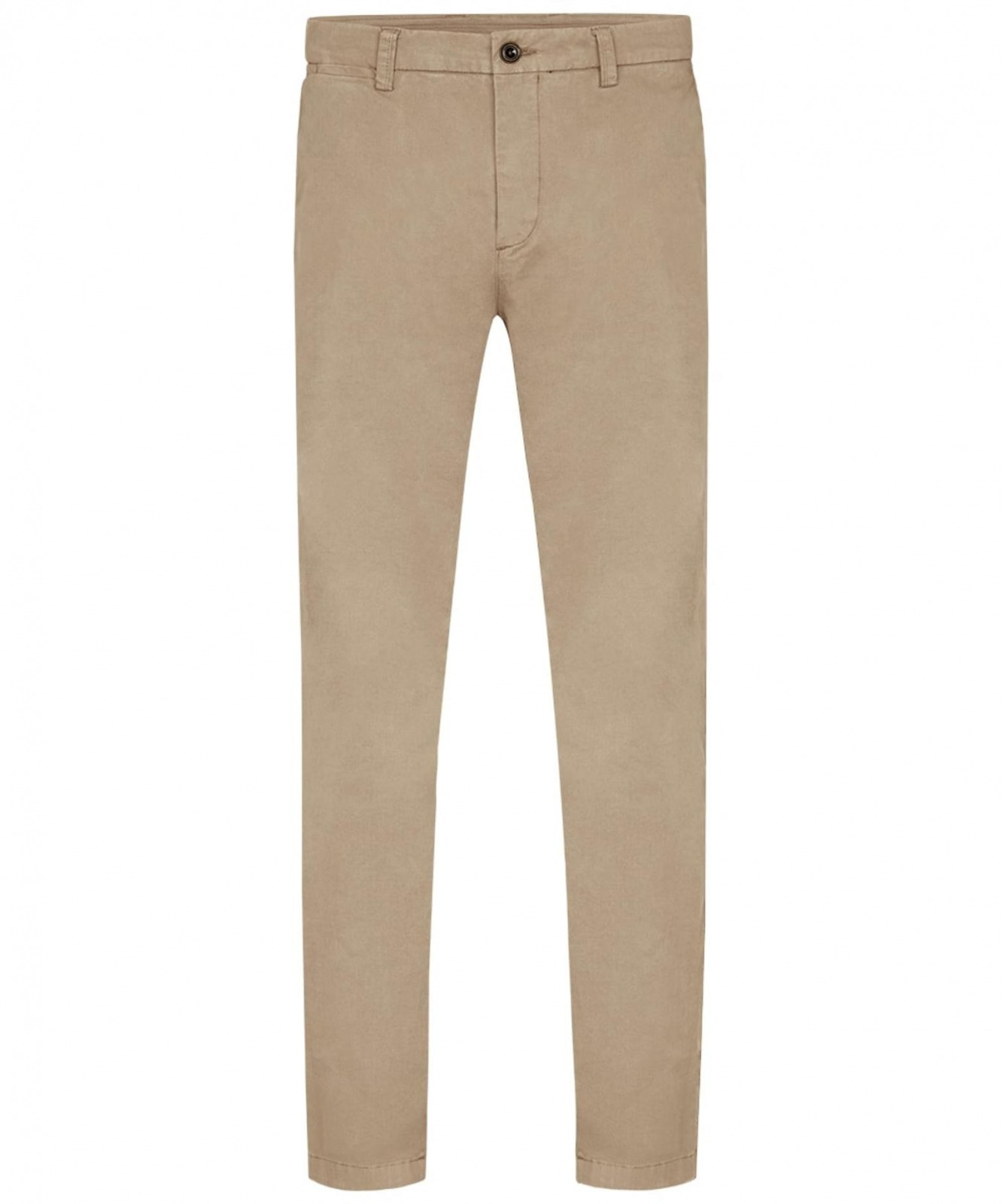 Image of Beżowe spodnie typu chino regular profuomo 32/32