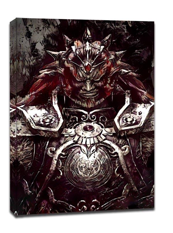 Image of Legends of bedlam, ganondorf, the legend of zelda - obraz na płótnie wymiar do wyboru: 40x60 cm