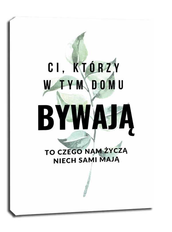 Image of Bywalcy - obraz na płótnie wymiar do wyboru: 30x40 cm