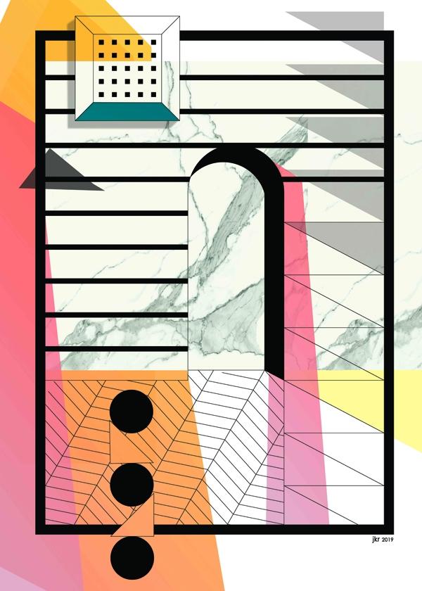 Image of Cukier puder - plakat wymiar do wyboru: 21x29,7 cm